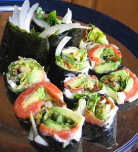 "Cut Italian ""Sushi"""