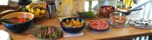 New Life Potluck buffet