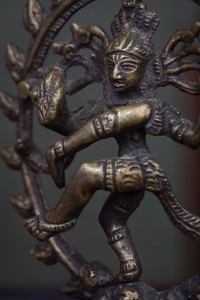 Nataraj, the Dancing Form of Shiva - symbolizing the cosmic dance of creation and destruction, birth and death.