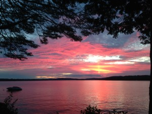 Winnipesaukee Sunset